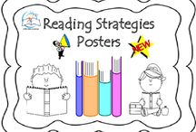 Reading Strategies Posters / Reading Strategies Posters. Post these reading strategies posters on the wall to remind students how to be critical readers. Use these posters at centers or to decorate your classroom.