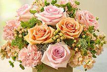 por bunga table