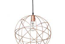 Lampe Kupfer kreativ