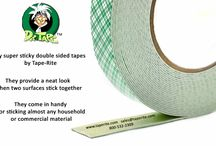super sticky double coated tapes