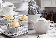 Winter Tea and Tablescapes