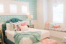 Teen girl bedrooms