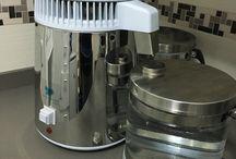 Agua pura cuerpo sano / En este tablero mostramos productos y soluciones para obtener agua pura.