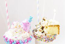 Milkshakes and ice-cream
