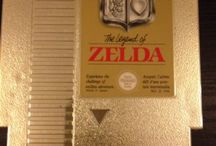 The legend of Zelda / Classic video game from the 80's