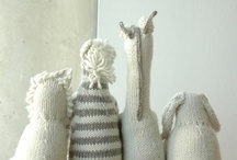 Knit~Felt~Fabric Toys ~for one day