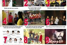 Running Man / 12 things learned from running man