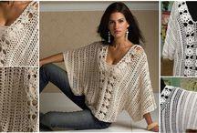 Háčkované blůzy a svetry