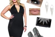 Glitz and Glam - Plus Size Fashoin / Dress your curves in glitz and glam!