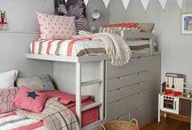 postele dětský pokoj