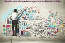 Lean Visual Management / Lean process, visual management tools and solutions, gestión visual de procesos, herramientas y soluciones