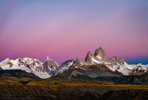 Fitzroy views / Beautiful Fitz Roy on the border between Argentina and Chile.
