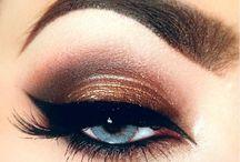 miedziane smoky eyes