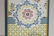 Cards - Stampin Up Daydream Medallions