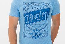 Hurley Crossed Lines T-Shirt
