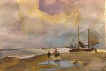 Schilderlessen bij Peter van Loon