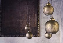 Brass Lamps & Candle Holders / May the light be with you...