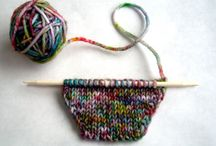 knice knits & crafty crochet / Made with yarn, knitted or crocheted