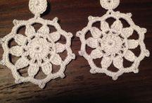 Pendientes Crochet