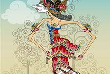 wayang art Indonesia