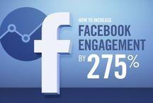 Social Media / Infografiken mit Fokus Social Media wie Facebook, Twitter, Pinterest und Co.