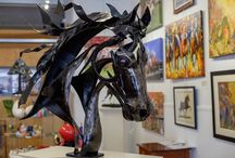 Art Gallery / Art gallery at Gatsby Gallery in Lawrenceburg, KY
