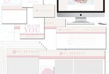 Branded Love | Branding and Marketing Kits / www.brandedlove.com
