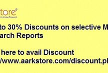 Discounted Market Research Reports / Special Discount offers for the year ending sales on wider range of analysis. check this pin board for Discounted Market Research Reports