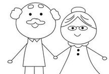 Grandparents Day / All about Grandparents Day - fun crafts, activities and printables for celebrating Grandmothers and Grandfathers.