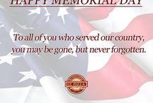 Memorial Day / Memorial Day