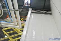 Installation (2 of 3) | InsulWall® | Insulated Warehouse Curtain Wall