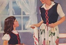 The Cult of Domesticity  / Vintage images of moms, kids & domesticity, served with a side of Mother/Daughter outfits.