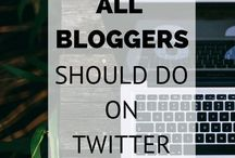 Twitter for bloggers and business