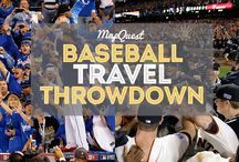 Baseball + Travel / We're huge baseball fans, so have rounded up the ultimate baseball travel guide. Scroll down for baseball travel tips, ideas to show off your team spirit and more! / by MapQuest