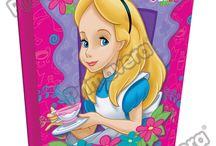 Cuadernos Alicia En El País De Las Maravillas / Línea Escolar Primavera Regresa a Clases con TODO