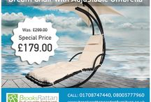 Sale / Shop our latest sale on rattan garden furniture.