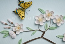 Quilling motyl