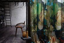 Favorite fabrics, wallpapers
