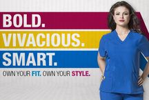 WonderWink Plus / BOLD, VIVACIOUS. SMART. Problem solved. Shopping for plus size uniforms used to be challenging and stressful...no longer. WonderWink addressed the most pressing problems faced by the most underserved demographic in medical uniforms.
