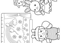 gracie's coloring pages