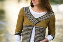 crochet jumpers and cardigans