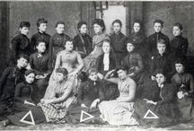 Delta Delta Delta - Founded Thanksgiving Eve, 1888 / Delta Delta Delta is one of NPC's 26 member organizations.