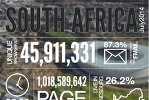 The Internet in South Africa / Interesting Internet usage and actions statistics pertaining to South Africa