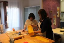 Our New Kitchen at Mama Isa's Cooking School / This is the new kitchen class at Mama Isa Cooking Classes in Venice (for a few months we worked to restore our new kitchen). The cooking space is also typically Italian, designed by Mama Isa! It is a multifunctional space dedicated to spreading Italian Regional gastronomic culture.  The school restored this large kitchen, to accommodate the continuous expansion of class offerings and its growing number of cooking students. http://isacookinpadua.altervista.org