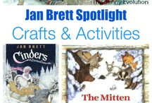 Jan Brett Joy / Ideas and activities using Jan Brett Children's literature.