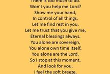 Words for the heart and soul