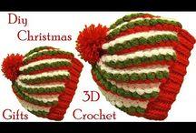 gorro navideño crochet