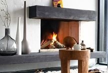 Fireplaces / by Ashley Miller