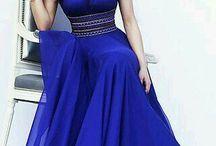 bel vestido azul