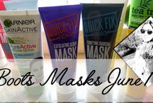 Boots masks - great for your skin